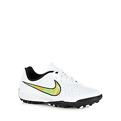Nike - Boy's white 'Magista Ola' trainers