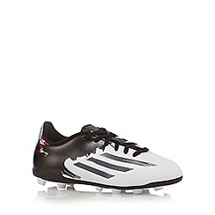 adidas - Boy's white 'Messi 10.4' football trainers