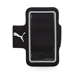 Puma - Black jogging iPhone pocket