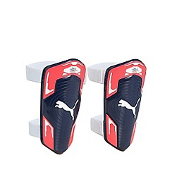 Puma - Boy's navy shin pads