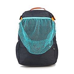 adidas - Boy's dark grey 'Messi' mesh pocket backpack