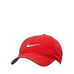Nike - Red 'Swoosh' logo cap