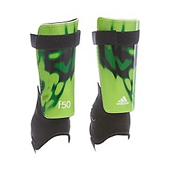 adidas - Boy's green 'F50 Replique' shin pads