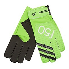 adidas - Bright green F50 training goalie gloves