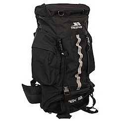Trespass - Black trekk 66 backpack