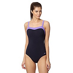 Speedo - Navy puresun swimsuit