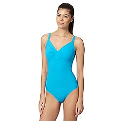 Speedo - Turquoise watergem adjustable swimsuit