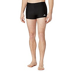 adidas - Black boxer swim shorts