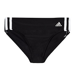 adidas - Boy's black 'Infinitex' swim trunks