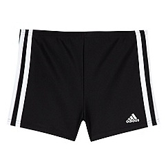 adidas - Boy's black 'Infinitex' swim shorts