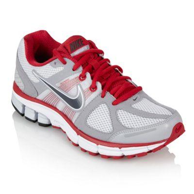 Grey Air Pegasus running shoes