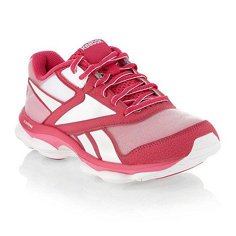 Reebok - Pink +Runtone Rapid+ trainers