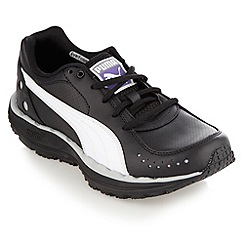 Puma - Black 'Bodytrain' trainers