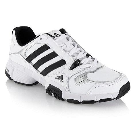 adidas - White +Barracks Premier+ trainers