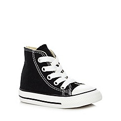 Converse - Babies black hi-top trainers