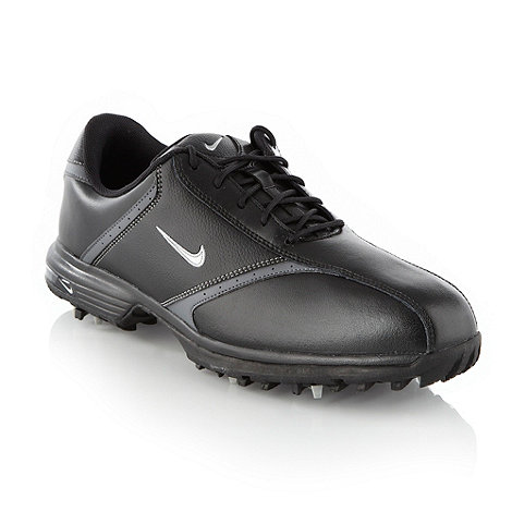 Nike - Black +Heritage+ golf trainers