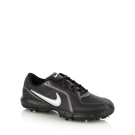 Nike - Black +Power Player+ golf trainers