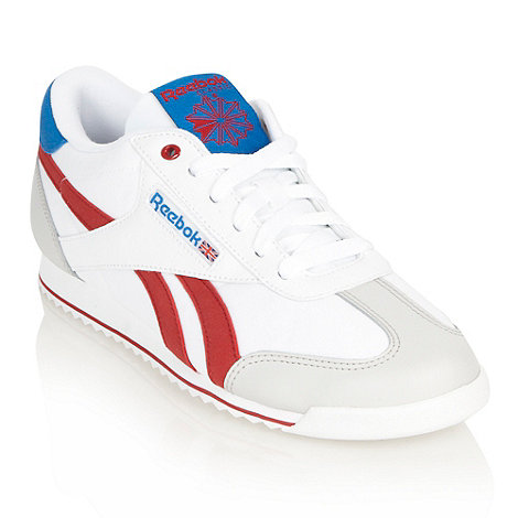 Reebok - White +Rayen+ branded trainers
