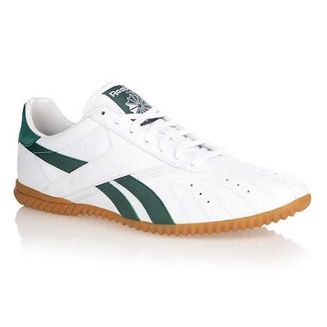 Reebok - White +Heritage volley+ trainers