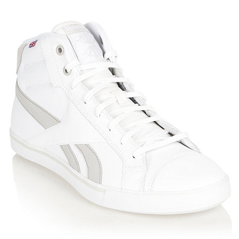 Reebok - White tennis high top trainers