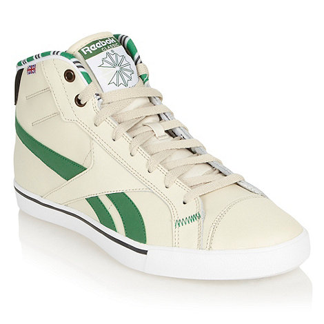 Reebok - Cream tennis high top trainers