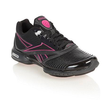 Reebok - Black +Easytone+ trainers