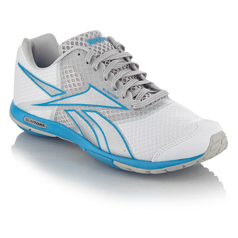 Reebok - White +Slimtone+ trainers