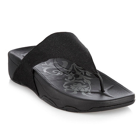 Skechers - Black 'Tone-up' flip flops