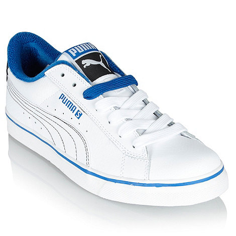 Puma - White perforated trainers