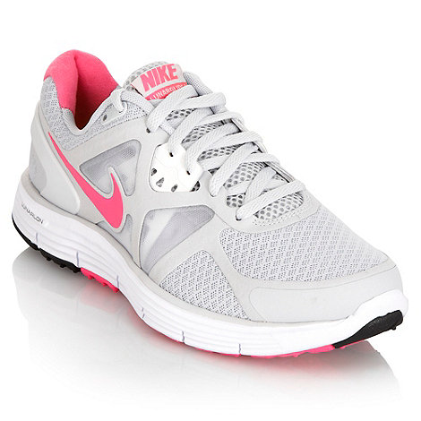 Nike - Grey +Lunarglide +3+ trainers