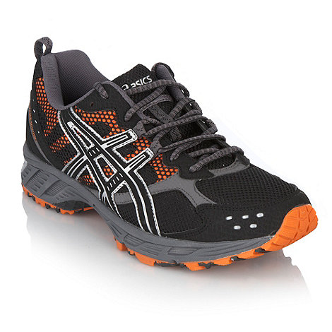 ASICS - Black gel +Enduro 7+ trainers