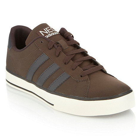 adidas - Brown +Daily+ trainers