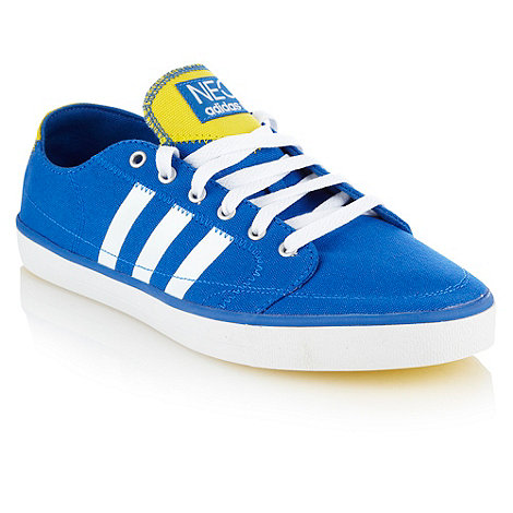 Adidas Neo Canvas Trainers Adidas Blue 'neo' Canvas