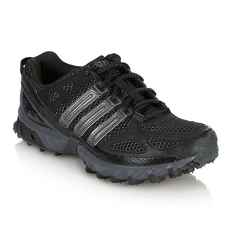 adidas - Black 'Kanadia 4' track trainers