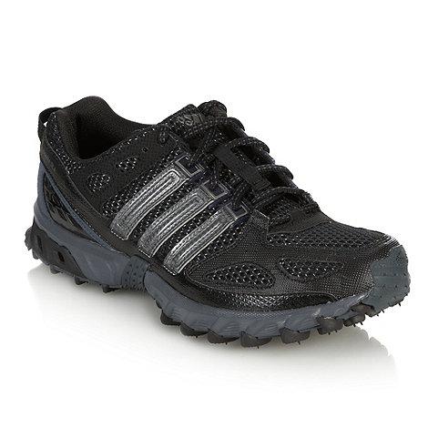 adidas - Black +Kanadia 4+ track trainers