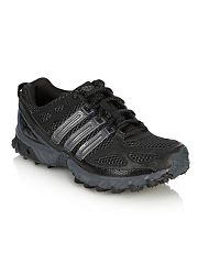 Adidas Black Kanadia 4 track trainers