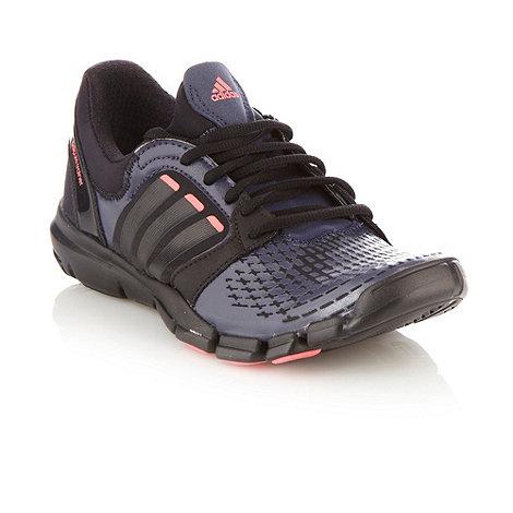 adidas - Navy +Adipure+ trainers