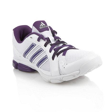 adidas - White +Sumbrah+ mesh trainers