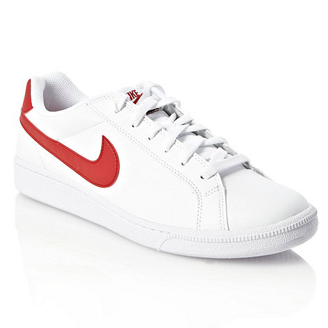 Nike - White 'Court Majestic' leather trainers
