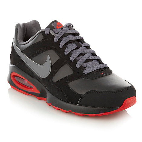 Nike - Black +Air Max Chase+ trainers