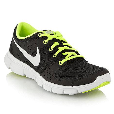 Nike - Black +Flex+ running trainers