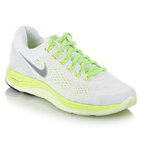 Nike - White +Lunarglide +4+ trainers