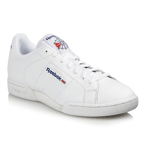 Reebok - White essential leather trainers