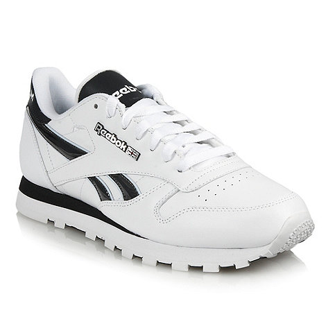 Reebok - White leather trainers