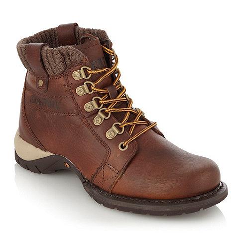 Caterpillar - Brown +Clarity+ work boots