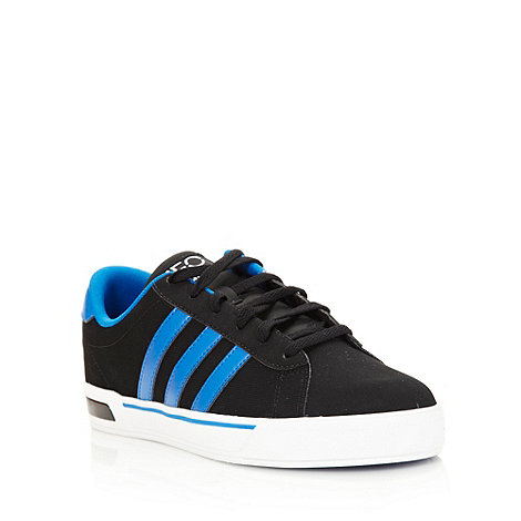 adidas - Black +Neo Daily+ trainers