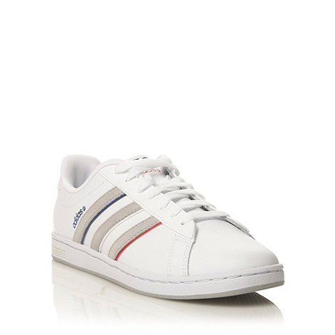 adidas - White 'Derby' trainers