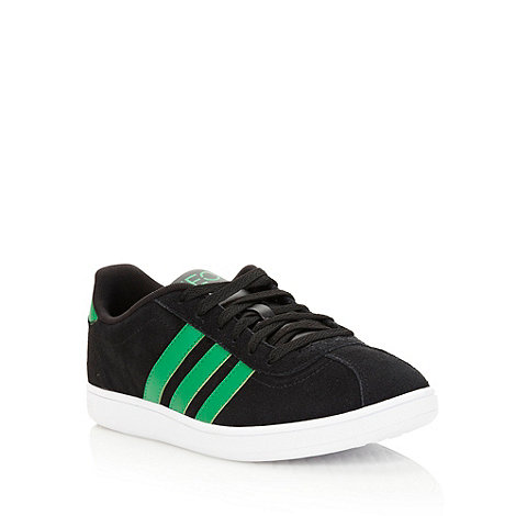 adidas - Black +Neo Court+ trainers