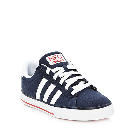 adidas - Navy 'Daily' trainers