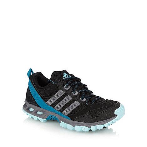 adidas - Black mesh +Kanadia+ trainers
